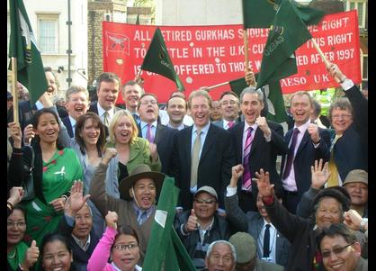 Success for the Gurkhas!