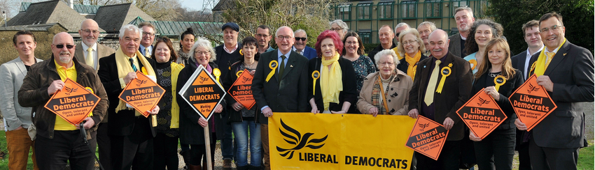 Lib Dems TDC 2019 candidates forde house cropped 2